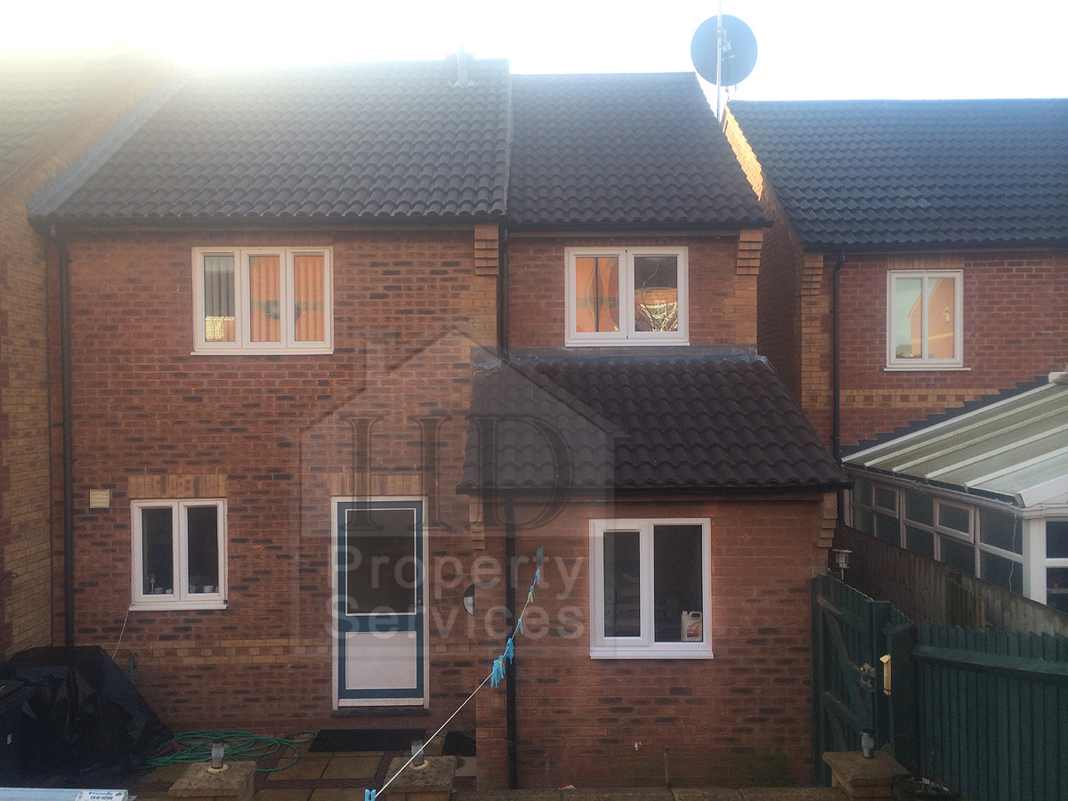 Before And After Photos Of A Two Storey Side Extension