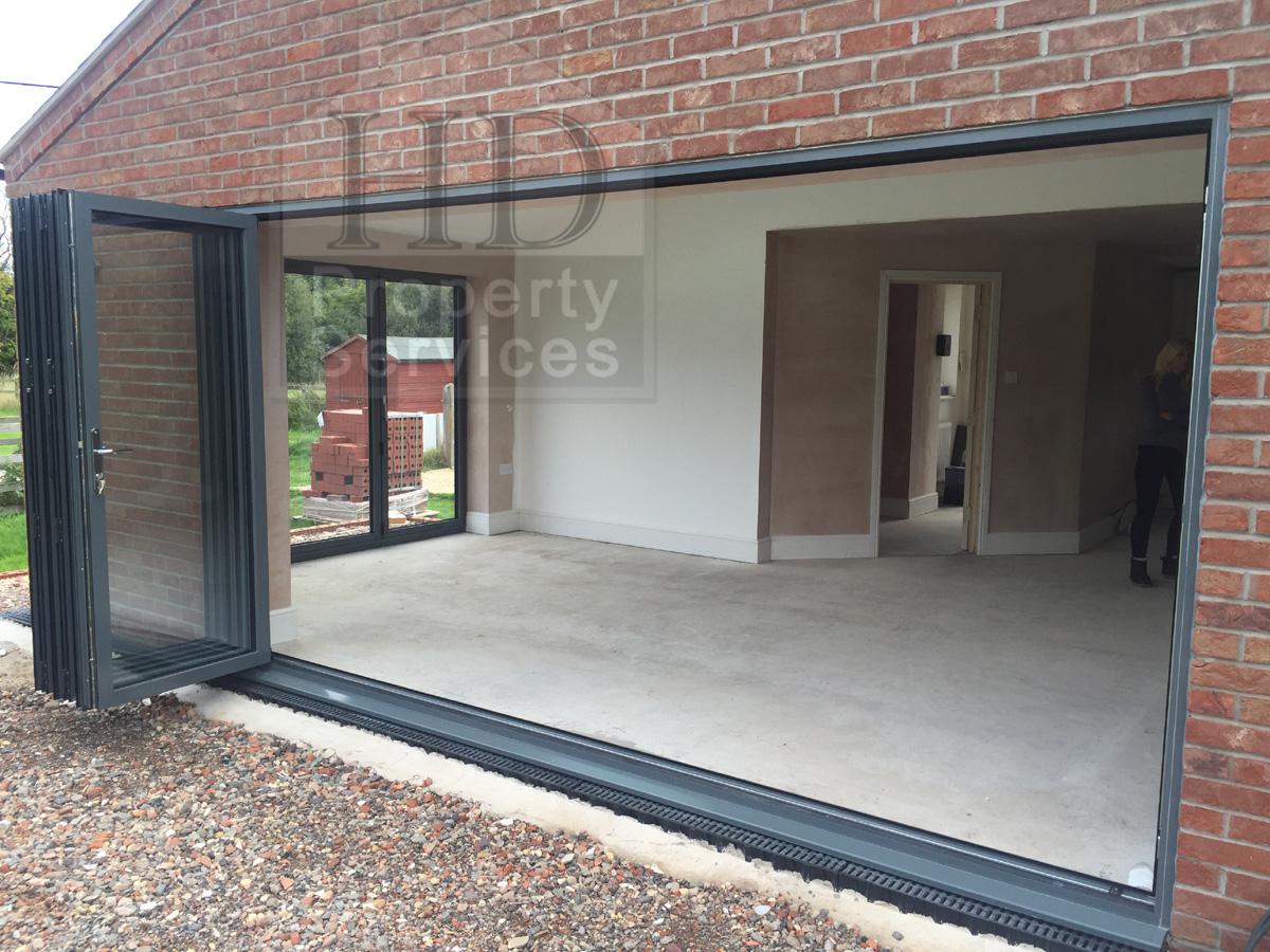 ground floor kitchen extension - wood floors