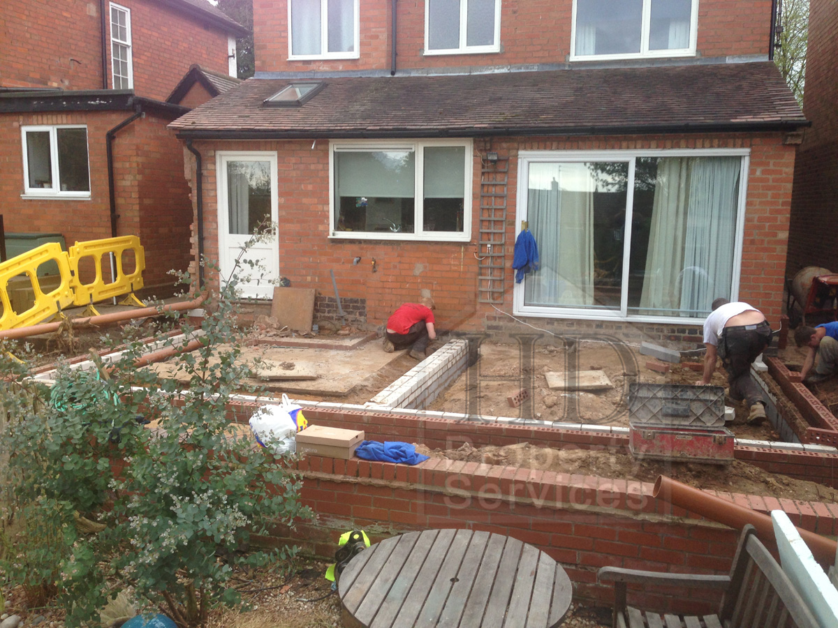 Before And After Photos Single Storey Extension Pitched