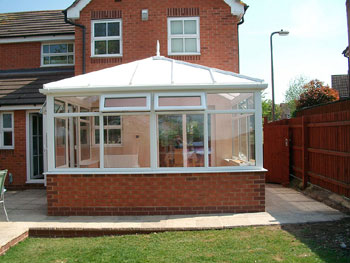 Building a conservatory construction diary before and after photos Factors to consider before building a conservatory