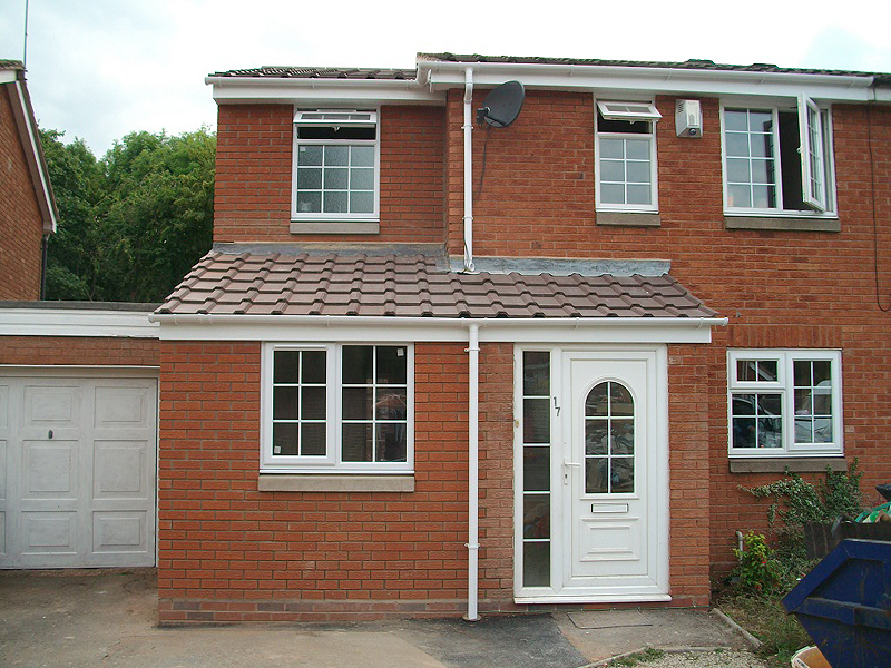 Double Storey Extension Building Construction Diary Before