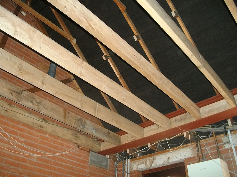 Building Extension Over A Garage Construction Diary Before