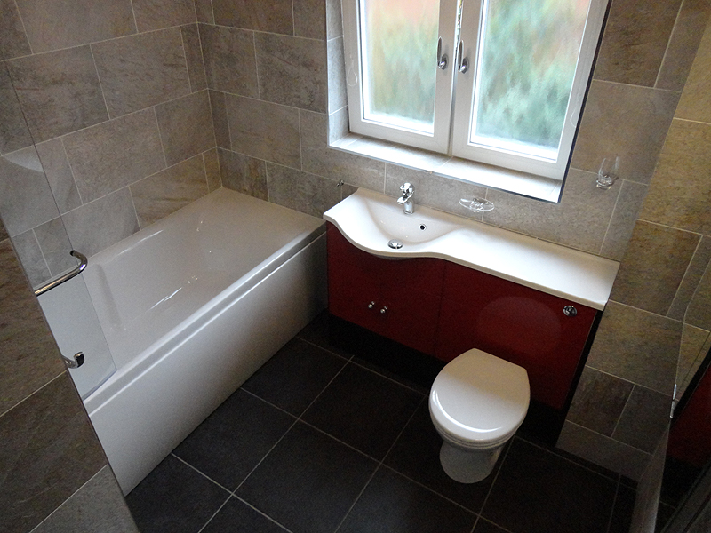 New bathroom fitted in Redditch Photos of completed designer bathroom