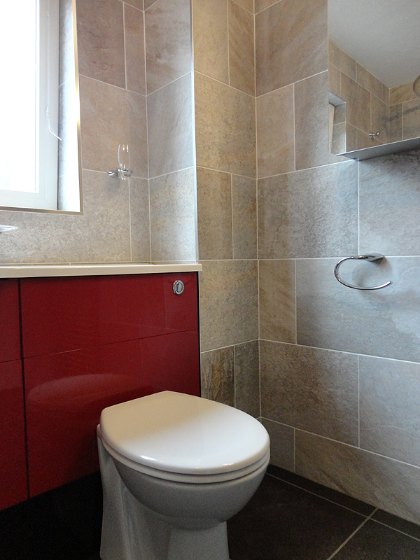 A closer view of the built in WCNew bathroom fitted in Redditch Photos of completed designer bathroom. New Bathroom Fitted Price. Home Design Ideas