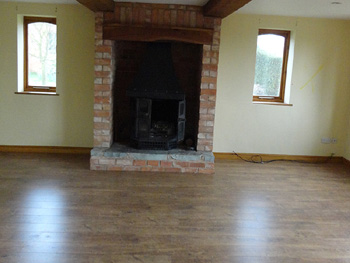 The living room prior to chimney breast removalBefore after photos renovation of barn conversion Renovation  . Living Room Chimney Removal. Home Design Ideas