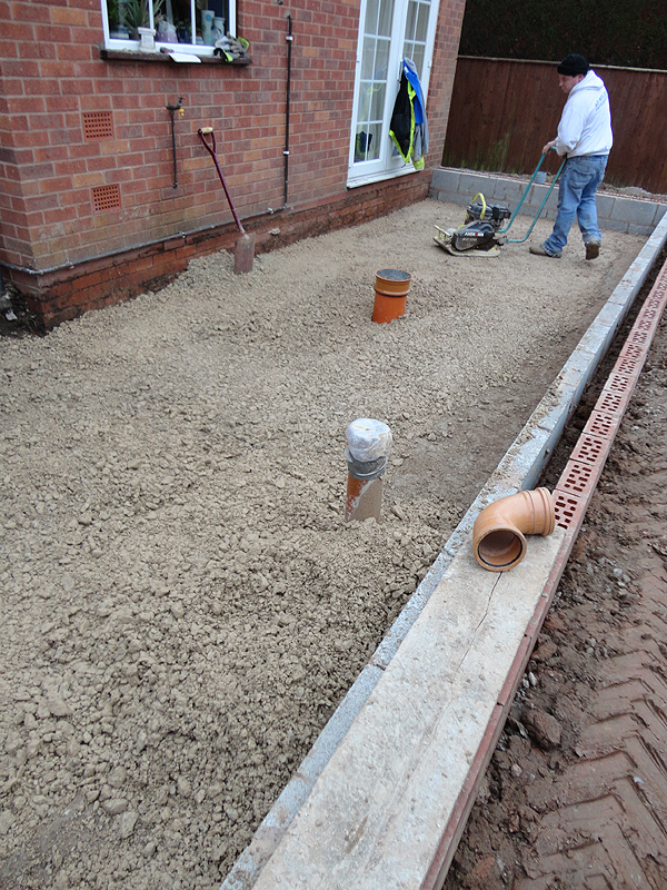 Single Storey Kitchen Extension Construction Diary Before and after ...
