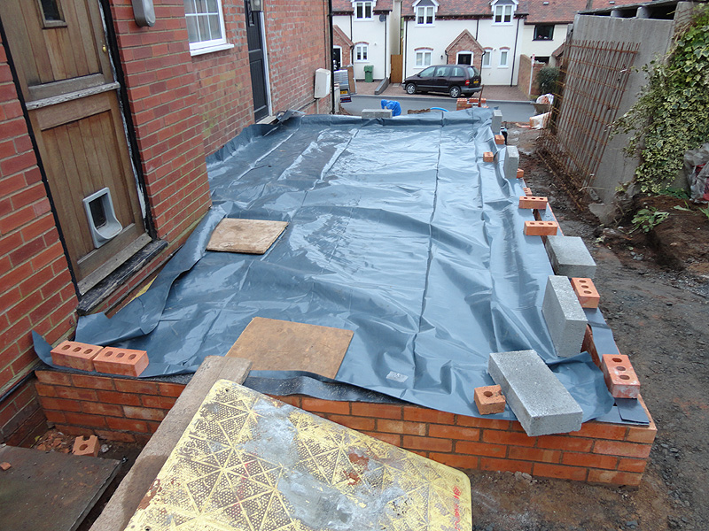 Before After Photos Of The Construction Of A Two Storey
